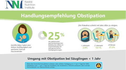 Handlungsempfehlung Obstipation (infographics)